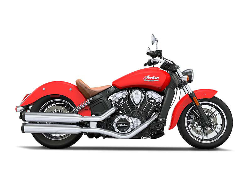 2016 Indian Scout Wildfire Red