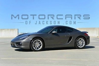 2014 Porsche Cayman One Owner 14 Cayman PDK Premium Pkg 14way Power SportSeats Warranty Bi-Xenon 2015 agate S