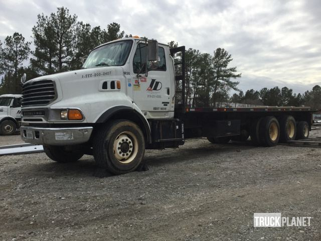 2004 Sterling Lt9500  Flatbed Truck