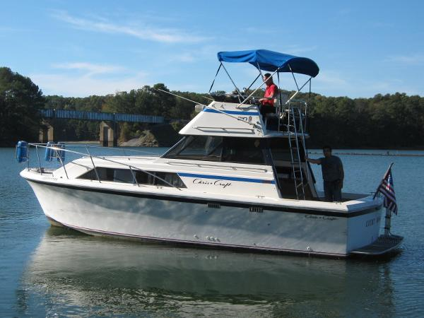 chris craft 310 catalina boats for sale
