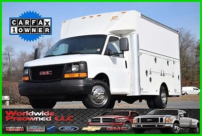 2005 GMC Savana Enclosed Utility Van 05 GMC Savana G3500 Cutaway Enclosed Utility Van 6.0L Vortec Gas GMC Chevy Used