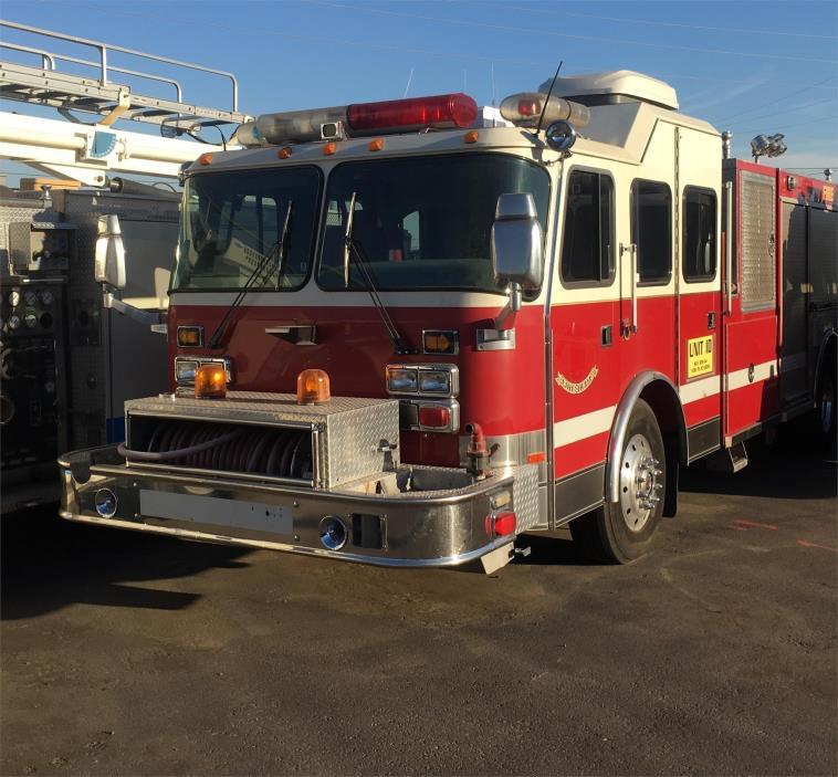1999 Saulsbury Pumper Fire Truck