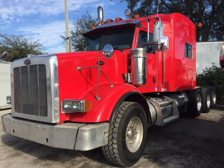 2009 Peterbilt 367  Cab Chassis