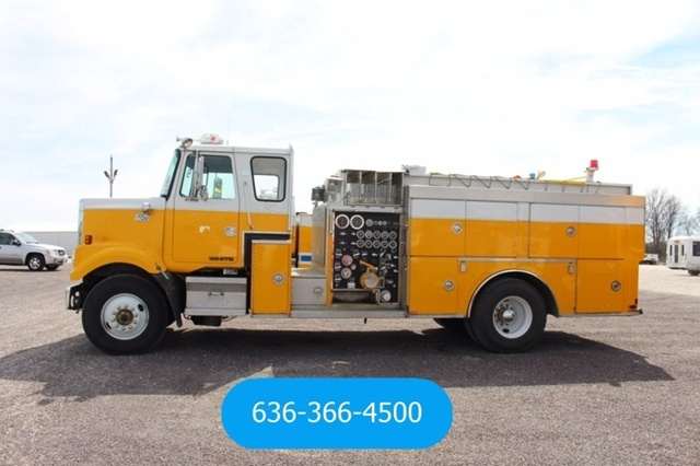 1983 Volvo White Road Boss Fire Truck