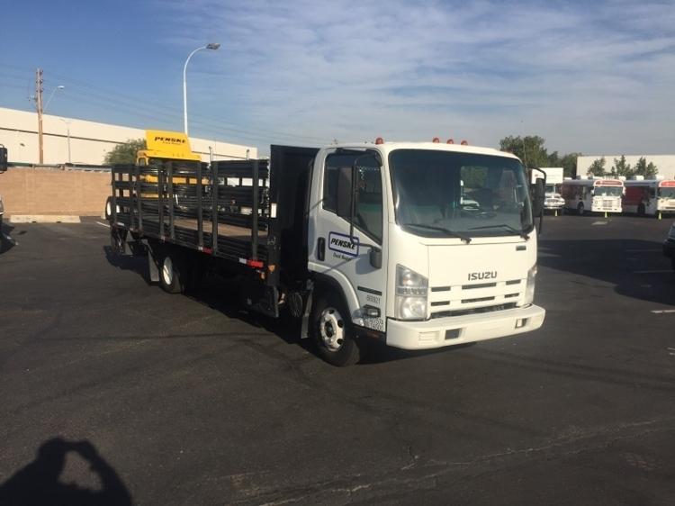 2013 Isuzu Npr  Flatbed Truck