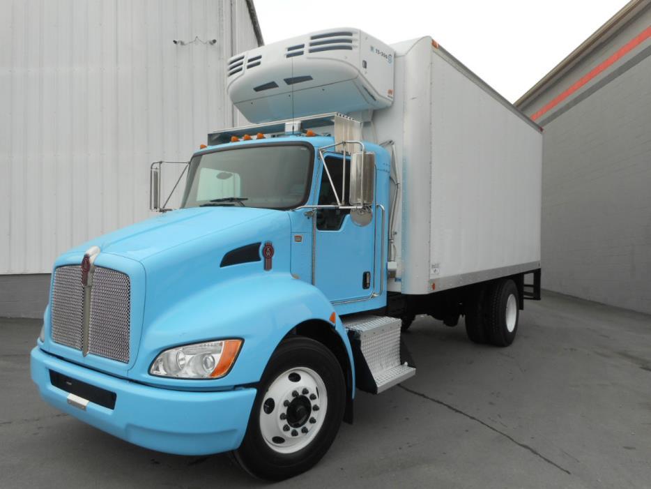 2009 Kenworth T270 Refrigerated Truck