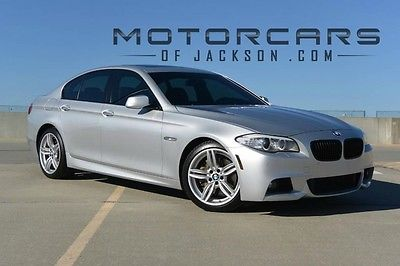 2013 BMW 5-Series 550i M Sport 13 BMW 550i M Sport Dynamic Sedan Luxury Seating Heated not 535i 2014 2015