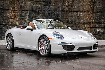 2012 Porsche 911 S Cabriolet 991 2012 Porsche 911 S Cabriolet 991 PDK $130k MSRP Bose Sport Exhaust 9700mi WOW!!!