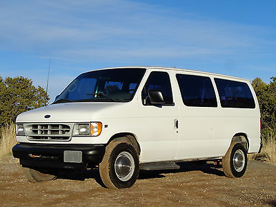2002 Ford E-Series Van XL 2002 Ford XL E350 12 Passenger Van Fleet Maintained Make Offer!!!