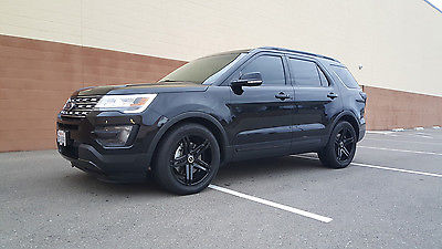 Ford Explorer Black Rims >> Ford Explorer Limited Cars For Sale In California