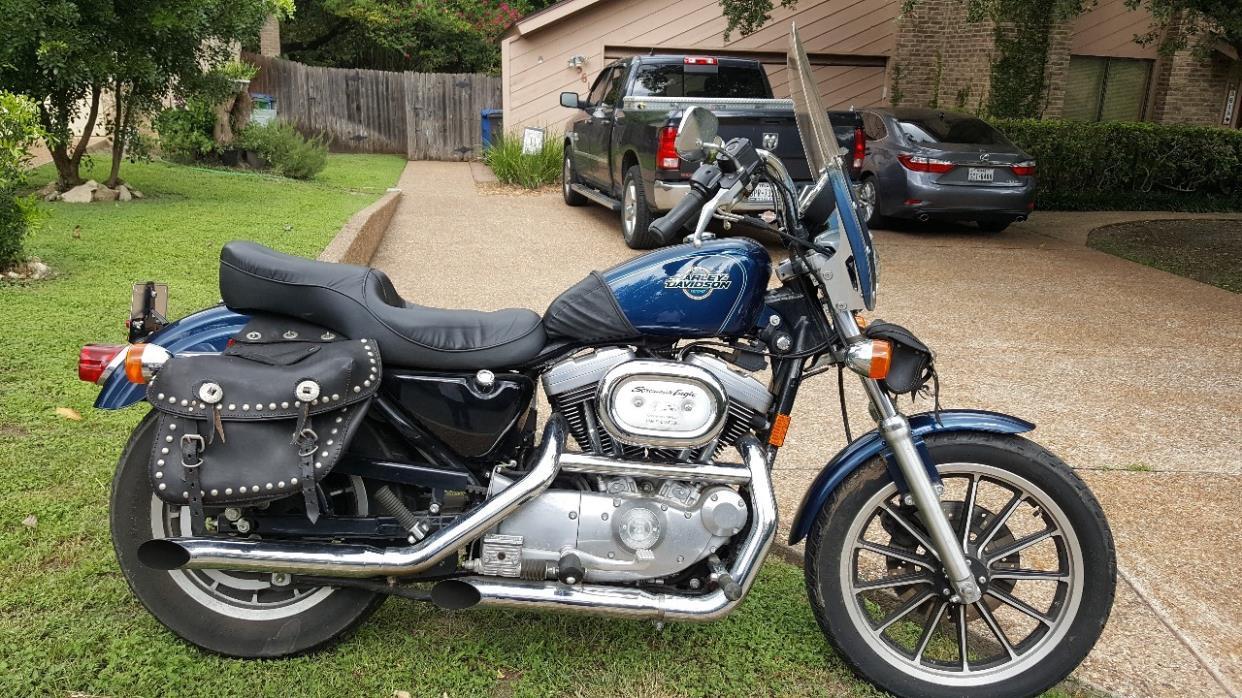 harley davidson sportster 1200 motorcycles for sale in san antonio texas. Black Bedroom Furniture Sets. Home Design Ideas