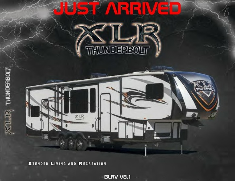2016 Forest River XLR THUNDERBOLT 365AMP