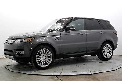 2016 Land Rover Range Rover Sport HSE 4WD Nav Climate & Visibility Pkg Pano Roof Repairable Rebuildable Lot Drives