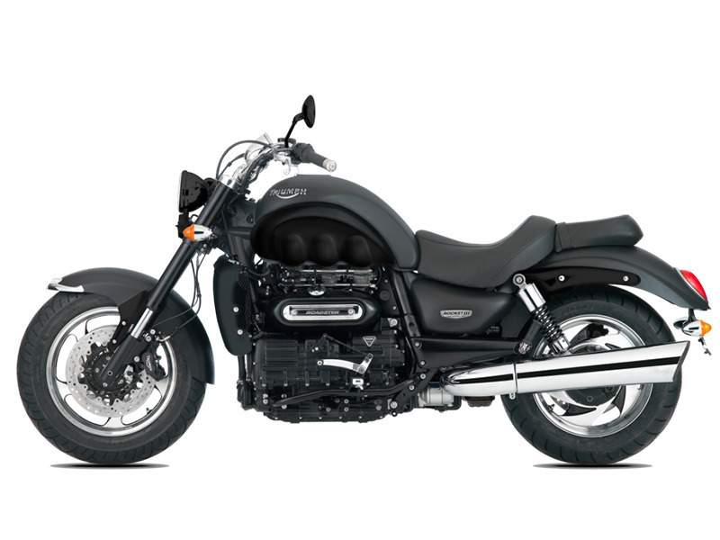 2017 Triumph Rocket III Roadster ABS Matt Phantom Bla