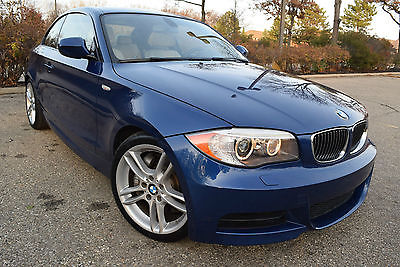 2013 BMW 1-Series TURBOCHARGED M PACKAGE-EDITION Coupe 2-Door 2013 BMW 135i M Package Coupe 2-Door 3.0L/Turbocharged/18