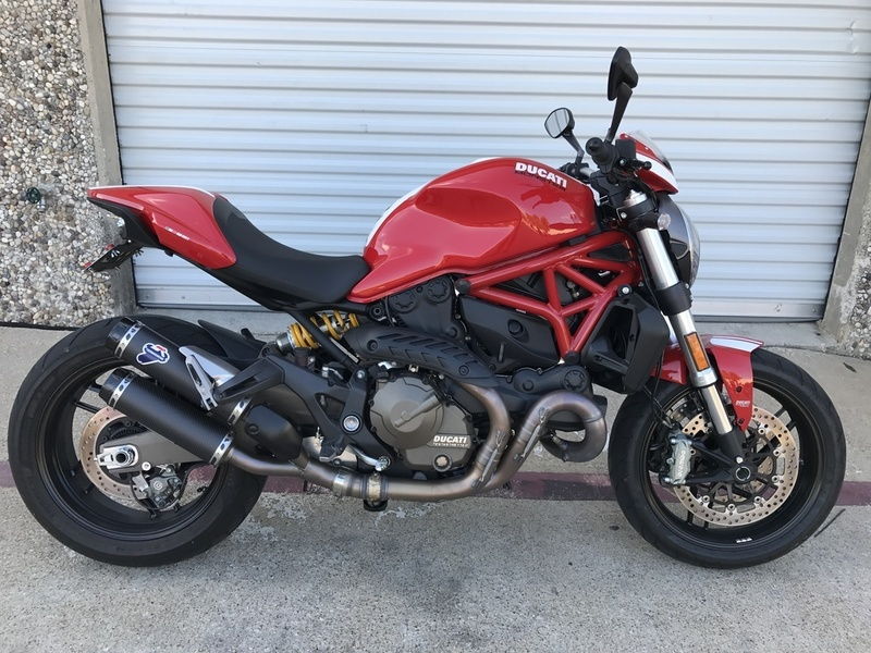 ducati monster 821 stripe motorcycles for sale in texas. Black Bedroom Furniture Sets. Home Design Ideas