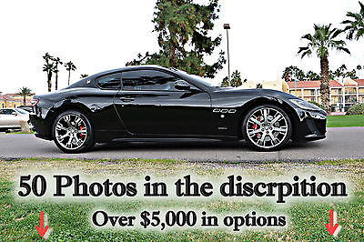 2013 Maserati Gran Turismo Granturismo Sport  2013 Maserati GranTurismo Sport 4.7L 450HP Factory warranty GTR SL z06 8k miles