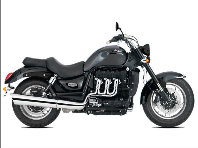 2017 Triumph Rocket III Roadster ABS Phantom Black