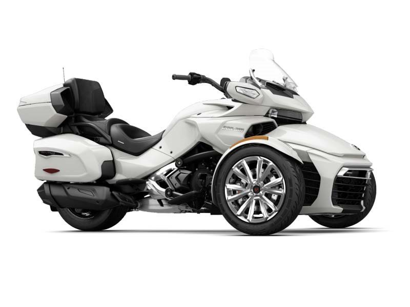 can am spyder f3 limited pearl white motorcycles for sale. Black Bedroom Furniture Sets. Home Design Ideas