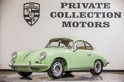 1965 Porsche 356  1965 Porsche 356SC 356 SC rare fully restored