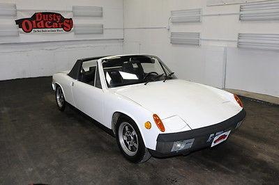 1970 Porsche 914 Runs Drives Body Int VGood 1.7L H4 FI 5spd man 1970 White Runs Drives Body Int VGood 1.7L H4 FI 5spd man!