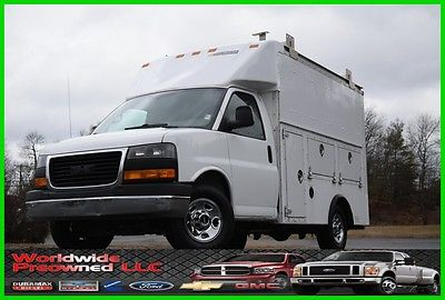 2011 GMC Savana Enclosed Utility Van 2011 GMC Savana G3500 Enclosed Utility Van 4.8L Vortec Gas Chevy Chevrolet Used