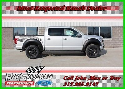2017 Ford F-150 2017 Ford ROUSH Lariat Truck 2017 Lariat New 5L V8 32V Automatic 4WD Pickup Truck Moonroof 17
