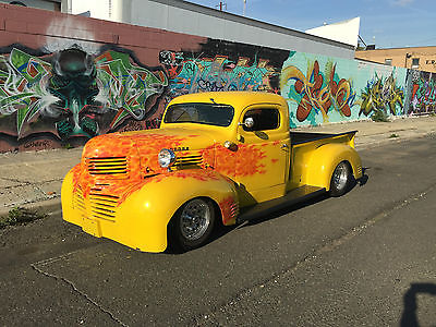 1946 Dodge Other Pickups pickup 1946 pickup, pro touring, chopped, not bagged restomod dropped custom