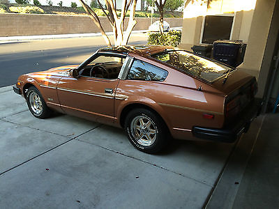 1981 Datsun Z-Series Hatchback 1981 Datsun 280ZX 2nd owner with only 60,939 miles
