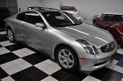 2003 Infiniti G35 Only 26,468 Miles! Carfax Certified! AMAZING CONDITION - FLORIDA CAR - LOW MILES - NICEST COLORS - CERT CARFAX !!!