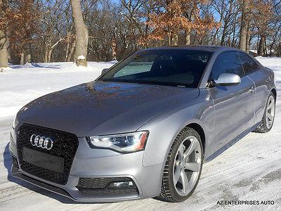 2015 Audi A5 2015 AUDI A5 S LINE 2.0T*NAVI*FULLY LOADED*S-LINE 2015 AUDI A5 S LINE 2.0T*ACTIVE DAMPER*5K MILES*LOADED*COMPETITIONPKG*SLINE*AWD