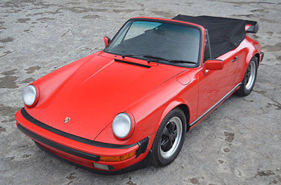 1988 Porsche 911 G50 911 Carrera Cabriolet Well serviced G50 Carrera Cabriolet Excellent Run and Drive classic Guards red