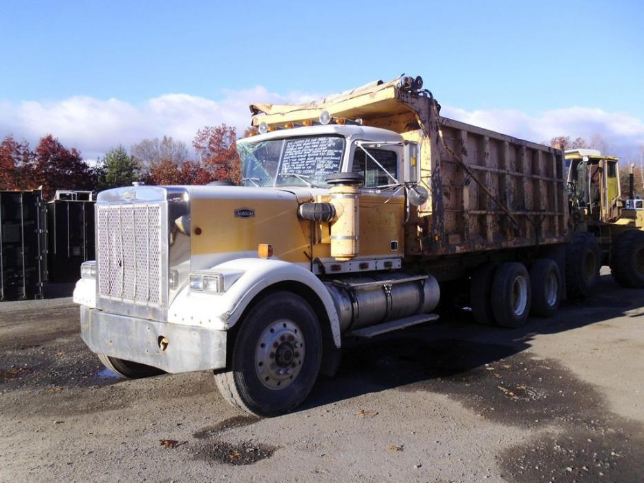 1983 Autocar Dump Truck Salvage Truck