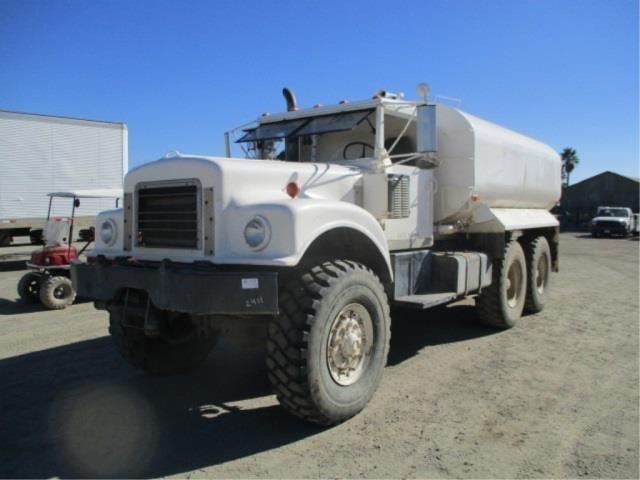 1978 Am General M35  Water Truck