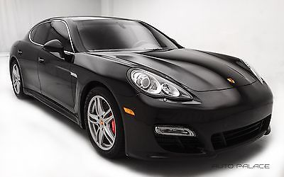 2013 Porsche Panamera Turbo Porsche Panamera Basalt Black Metallic with 39,070 Miles, for sale!