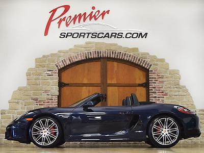 2015 Porsche Boxster GTS, Only 10k Miles, 6 Speed Manual, 330HP, Torque Vectoring (PTV) MSRP $84,390