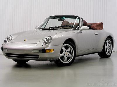 1998 Porsche 911 Cabriolet 1998 PORSCHE 911 - 993 - CABRIOLET – RARE PRISTINE SURVIVOR – BREATHTAKING!