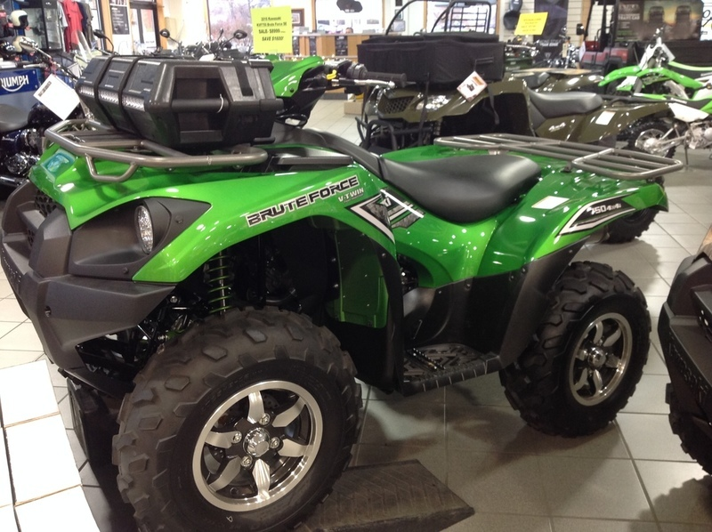 kawasaki brute force 750 4x4i eps candy lime gree motorcycles for sale. Black Bedroom Furniture Sets. Home Design Ideas