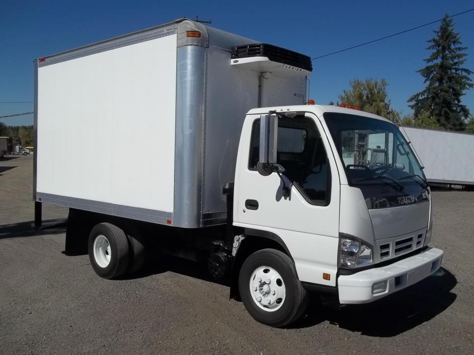 2007 Isuzu Npr  Refrigerated Truck