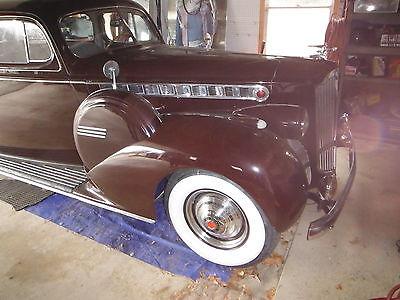 1940 Packard  1940 Packard 160 Sedan