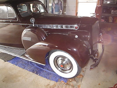 1940 Packard Cloth 1940 Packard 160 Sedan