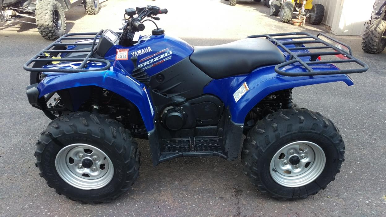 Yamaha grizzly 450 auto 4x4 motorcycles for sale in wisconsin for Yamaha grizzly 450 for sale