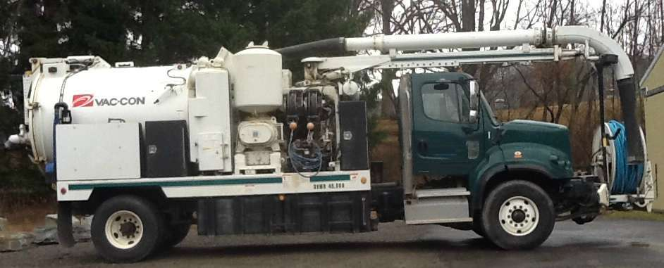 2012 Vac-Con Vpd3690lha1000 Combination Sewer Cleaner Tanker Trailer