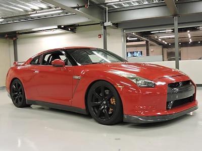2009 Nissan GT-R Premium 2009 Nissan GT-R Premium 60,789 Miles Solid Red 2dr Car V6 Cylinder Engine 3.8L