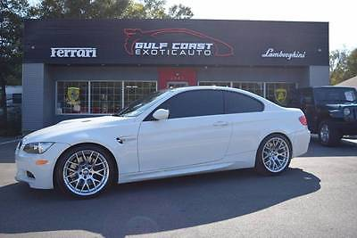 2013 BMW M3 Base 2dr Coupe 2013 BMW M3 Base 2dr Coupe 33,008 Miles White Coupe 4.0L V8 Automatic 7-Speed