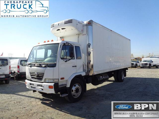 2009 Ud Nissan Box Refrigerated Truck