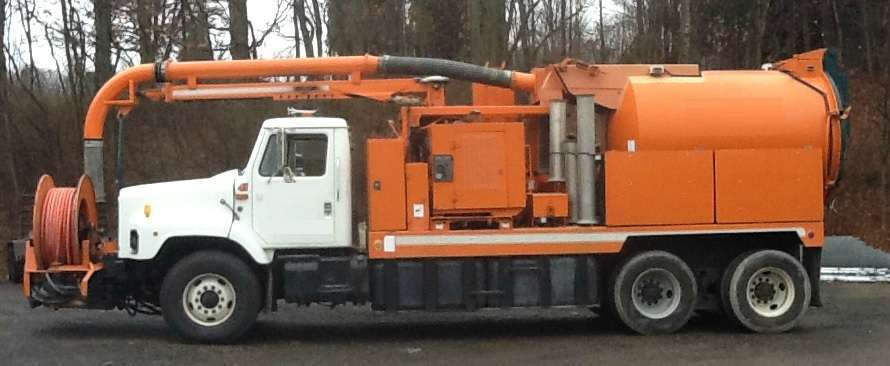 2000 Vac-Con Vpd3609sha Combination Sewer Cleaner Tanker Trailer