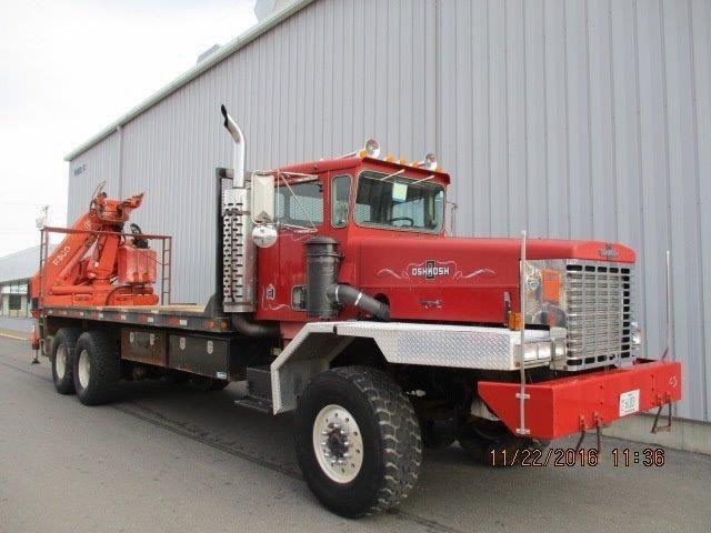 1995 Oshkosh Fa2346 Crane Truck