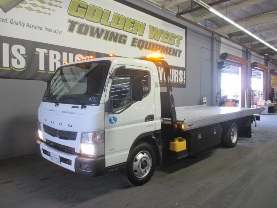 2012 Mitsubishi Fuso Fe180 Car Carrier