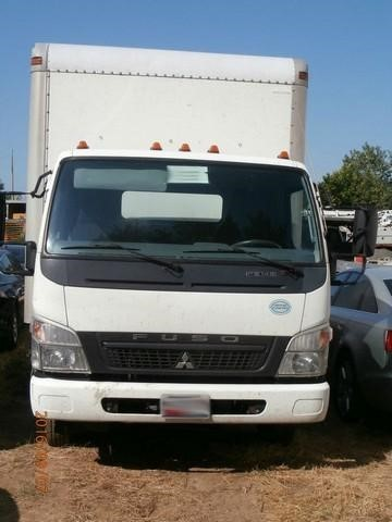 2008 Mitsubishi Fuso Fe84d  Cargo Van